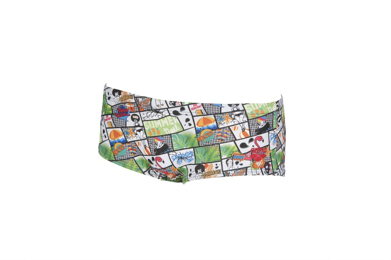 Arena Summer Comics Low Waist Short