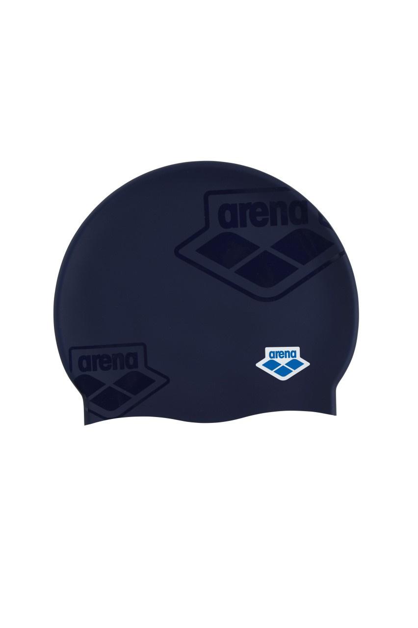 Arena badmuts Icons Team Stripe assorti blauw