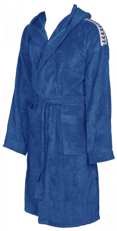 Arena badjas soft robe royal-white