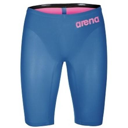 Arena Wedstrijd jammer Powerskin R-Evo One Blauw/ Roze