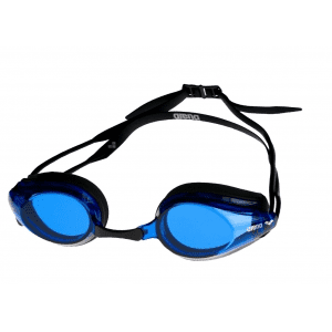 Arena zwembril Tracks black/blue/black