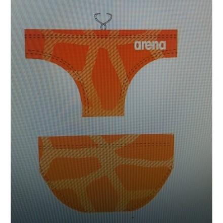 Arena waterpolobroek Spider Orange