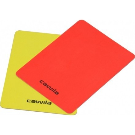 Cawila scheidsrechter kaarten set