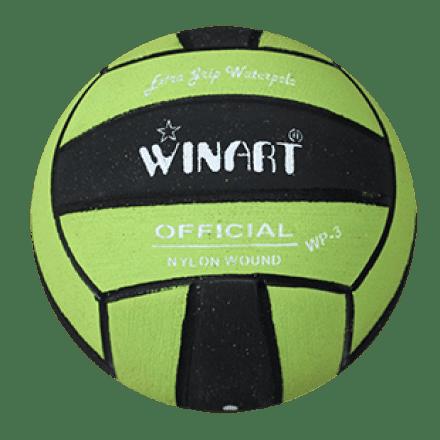 Winart waterpolobal pupil groen/zwart mt. 3