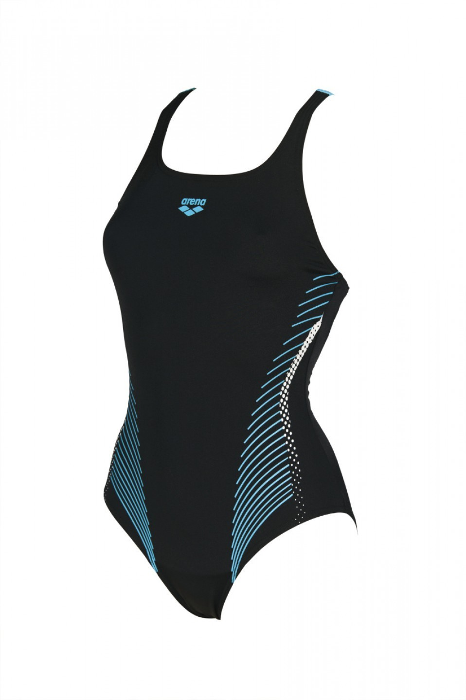 Arena damesbadpak Fluids black-sea-blue