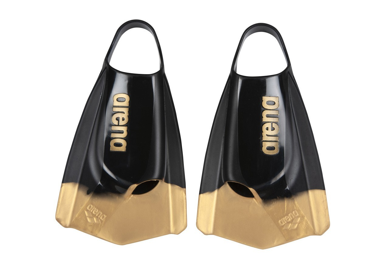 Arena Powerfin Pro black-gold