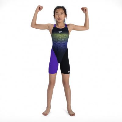 Foto van Speedo meisjes wedstrijdbadpak Fastskin JR OB Kneeskin