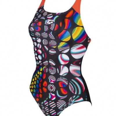 Foto van Arena damesbadpak Mirrors Glass swim pro multi