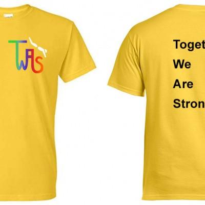 Foto van Erima T-shirt TWAS geel