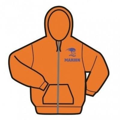 Foto van Gildan hooded sweater Met rits Masters Nederland