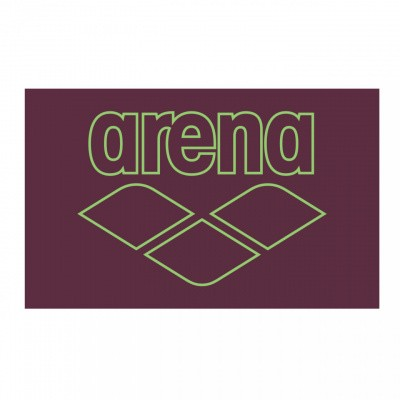 Foto van Arena Pool Smart Towel red-wine-shiny-green