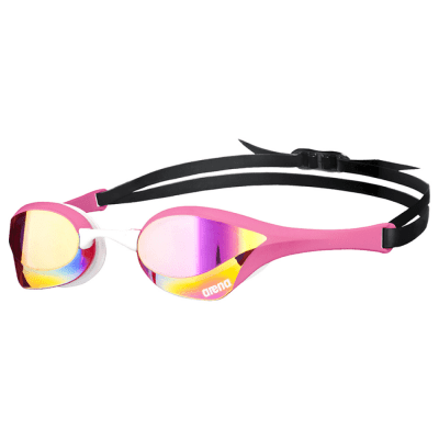Foto van Arena zwembril Cobra Ultra Mirror pink-revo/pink/white