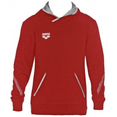 Foto van Arena hoodie hooded sweater rood