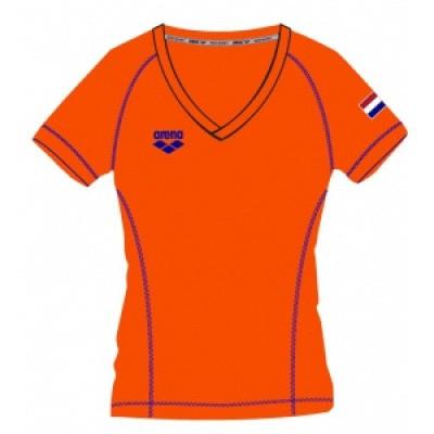 Foto van Arena dames t-shirt Nederland