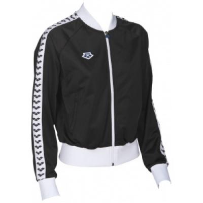 Foto van Arena relax team jacket black-white-black