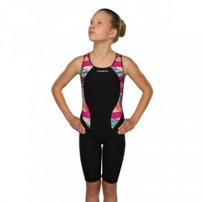 Foto van Maru meisjesbadpak Meteor Panel Knee Skin