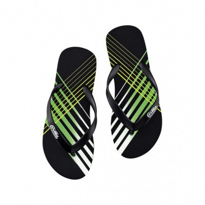 Foto van Erima Beach-teenslipper black/green/white