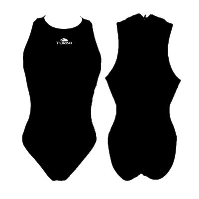 Foto van Turbo waterpolobadpak zwart