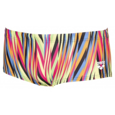 Foto van Arena Speed Stripes Low Waist Short black-multi-orange