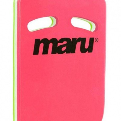 Foto van Maru Two Grip kickboard roze groen