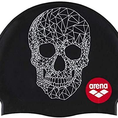 Foto van Arena Badmuts Silicone Print 2 Crazy pop skull