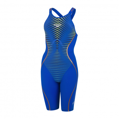 Foto van Speedo wedstrijdbadpak LZR Pure Intent OB blue/green