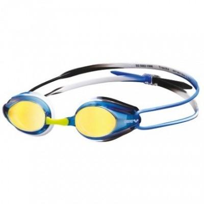 Foto van Arena zwembril Tracks Mirror blue-black-blue