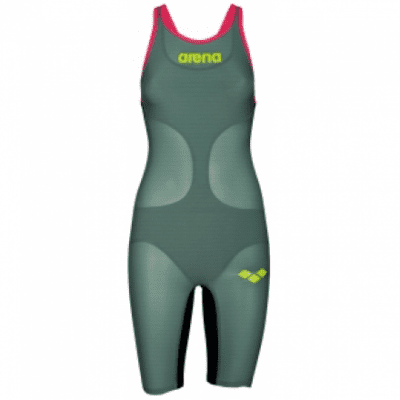Foto van Arena Wedstrijdpak Carbon Air Dark Green open back