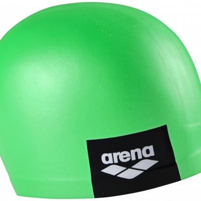 Foto van Arena badmuts logo moulded pea-green