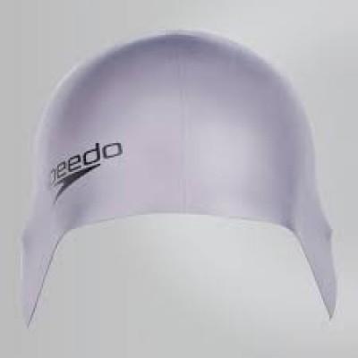 Foto van Speedo Plain Moulded silicone cap zilver