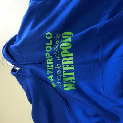 Foto van Gildan hooded sweater met Waterpolo Afbeelding