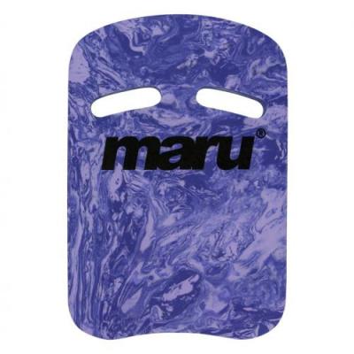 Foto van Maru Two Grip Swirl kickboard purple