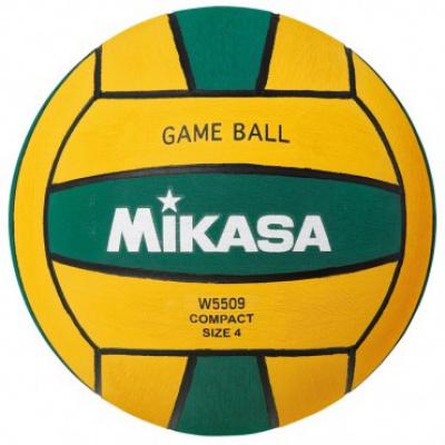 Foto van Mikasa Waterpolobal W5509GRE no.4 dames groen/geel