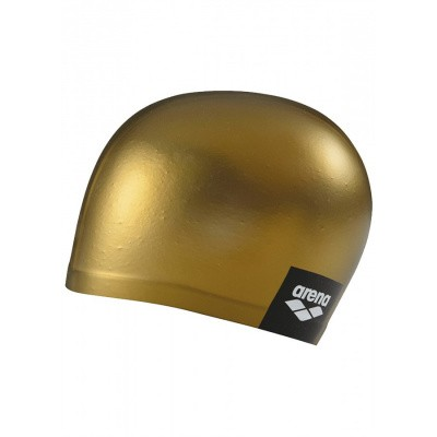 Foto van Arena badmuts logo moulded gold