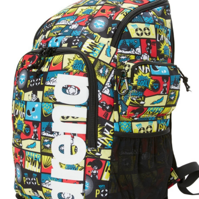 Foto van Arena Team 45 backpack comics black-multi