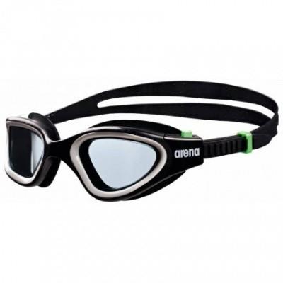 Foto van Arena zwembril Envision Black/ Smoke/Green