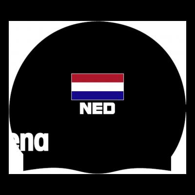 Foto van Arena Badmuts Moulded Nederlandse vlag
