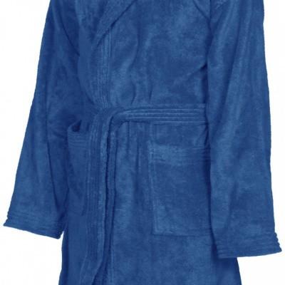 Foto van Arena badjas core soft junior royal blauw