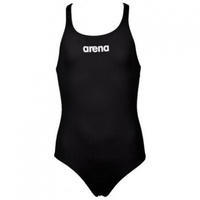 Foto van Arena Meisjesbadpak Solid Swim Pro zwart
