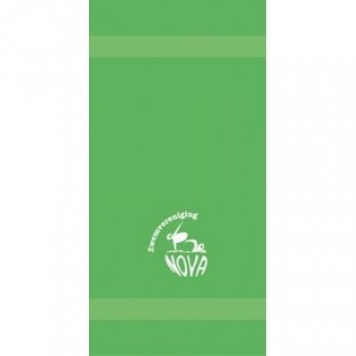 Foto van Nilton Badhanddoek Met NOVA logo