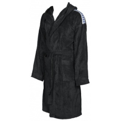 Foto van Arena badjas core soft robe black-white