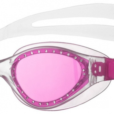 Foto van Arena zwembril Evo junior fuchsia-clear-clear
