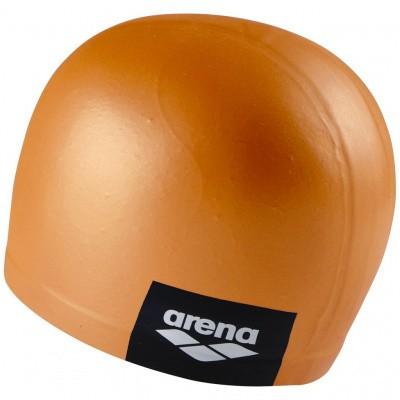 Foto van Arena badmuts logo moulded pinkish-orange