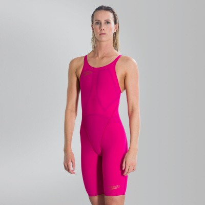 Foto van Speedo Wedstrijdbadpak LZR Element OPBK red/brown