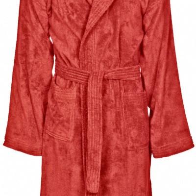 Foto van Arena badjas core soft junior rood