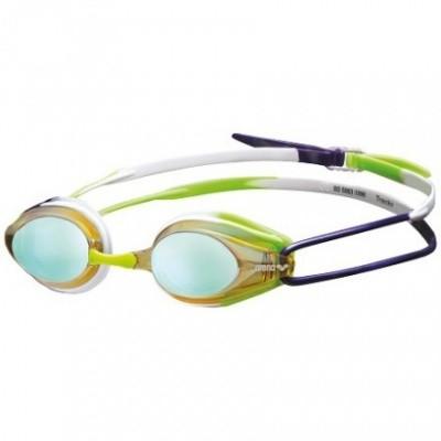 Foto van Arena zwembril Tracks Mirror yellow-purple-green