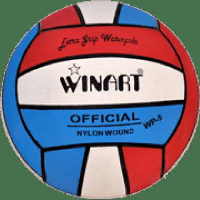 Foto van Winart waterpolobal rood/wit/blauw