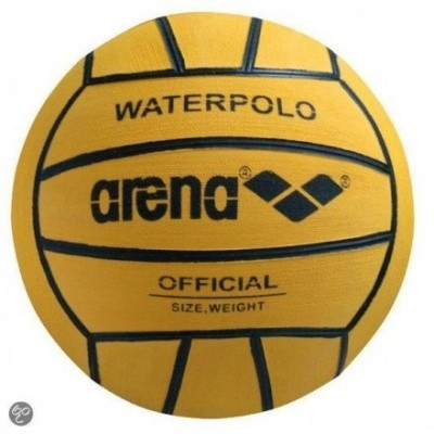 Foto van Arena Waterpolobal geel mt. 4