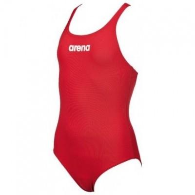 Foto van Arena Meisjesbadpak Solid Swim Pro rood