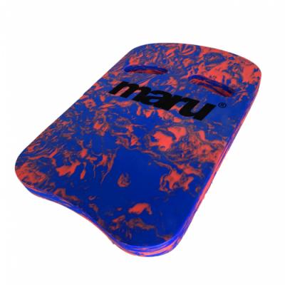 Foto van Maru Two Grip Swirl kickboard Blue/Red